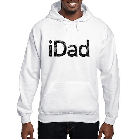 iDad, Vintage, Hooded Sweatshirt