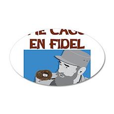 ME CAGO EN FIDEL.png Wall Decal