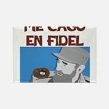 ME CAGO EN FIDEL.png Rectangle Magnet