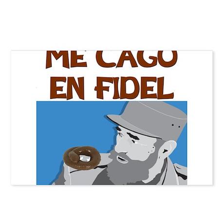 ME CAGO EN FIDEL.png Postcards (Package of 8)