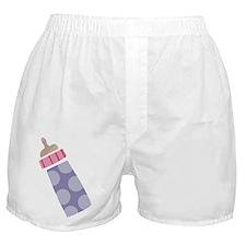Baby Bottle Boxer Shorts