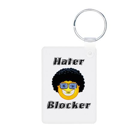 hater blocker.png Aluminum Photo Keychain