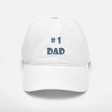 #1 Dad (Bl) Baseball Baseball Cap