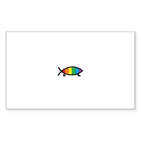 Gaytheist Sticker (Rectangle)