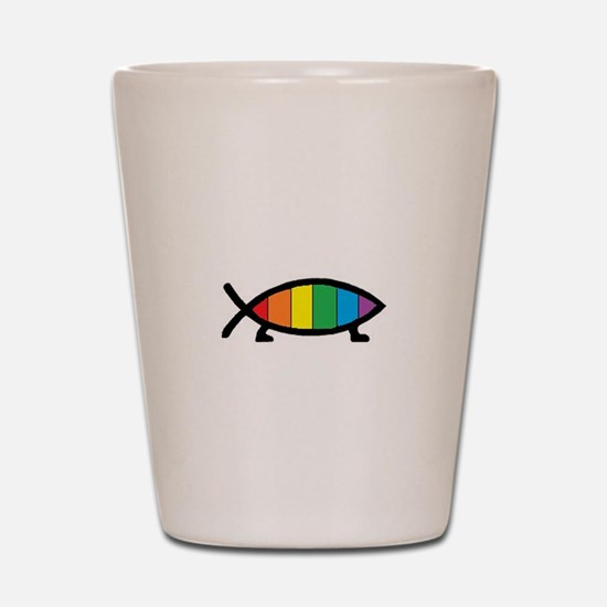 Gaytheist Shot Glass