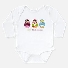 Unique Dots Long Sleeve Infant Bodysuit