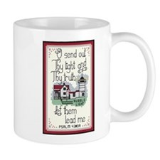 Nubble Lighthouse Mug with Bible Verse