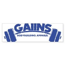 Cute Bodybuilding Bumper Sticker