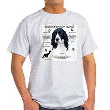 Springer 1 Ash Grey T-Shirt