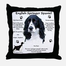 Springer 1 Throw Pillow