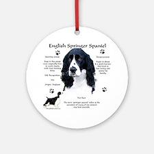 Springer 1 Ornament (Round)