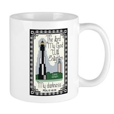 Cape Henry Lighthouse Mug with Bible Verse