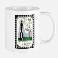 Cape Henry Lighthouse Mug with Bible Verse