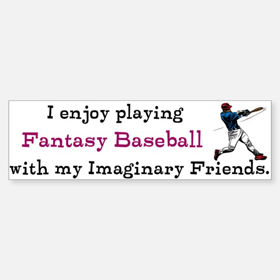 Fantasy Baseball Sticker (Bumper)