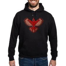 Beadwork Cardinal Hoodie