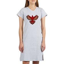 Beadwork Cardinal Women's Nightshirt