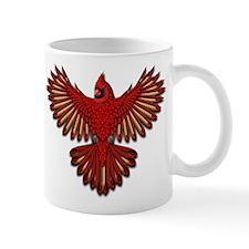 Beadwork Cardinal Mug