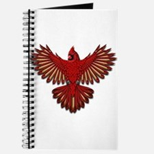 Beadwork Cardinal Journal
