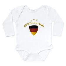 Soccer Crest DEUTSCHLAND gold 1 Body Suit