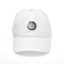 Golf ball smiley Baseball Cap