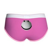 Golf ball smiley Women's Boy Brief