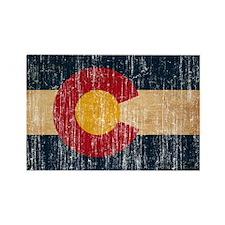 Colorado Flag Rectangle Magnet (10 pack)