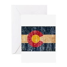 Colorado Flag Greeting Card