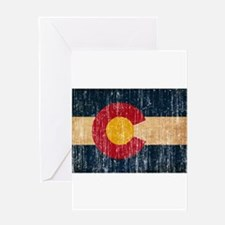 Colorado Flag Greeting Card