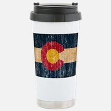 Colorado Flag Travel Mug