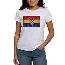 Croatia Flag Tee