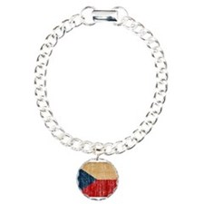 Czech Republic Flag Bracelet
