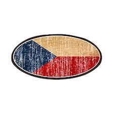 Czech Republic Flag Patches