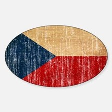 Czech Republic Flag Decal