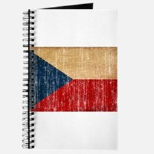 Czech Republic Flag Journal