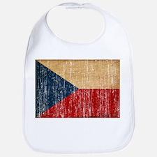 Czech Republic Flag Bib