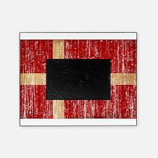 Denmark Flag Picture Frame