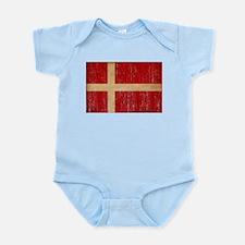 Denmark Flag Infant Bodysuit