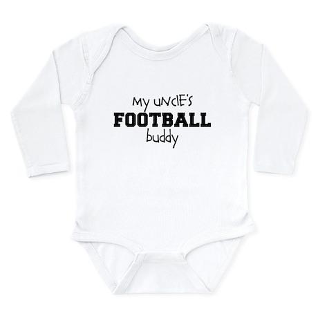 My Uncle's Football Buddy Baby Bodysuit - Long Sl