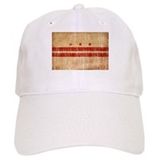 District of Columbia Flag Baseball Cap