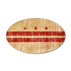 District of Columbia Flag Wall Decal