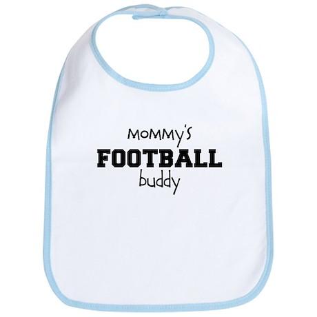 Mommy's Football Buddy Baby Bib
