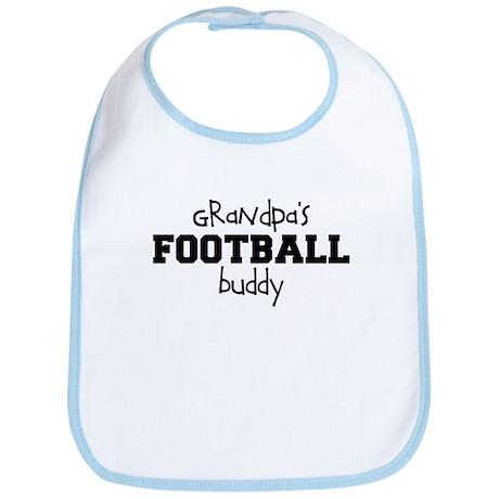 Grandpa's Football Buddy Baby Bib