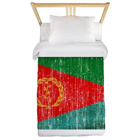 Eritrea Flag Twin Duvet