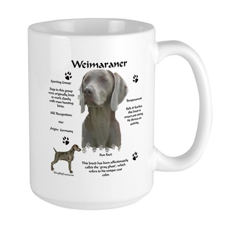 Weim 3 Large Mug
