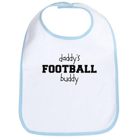 Daddy's Football Buddy Baby Bib