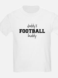 Daddy's Football Buddy Kid's Shirt