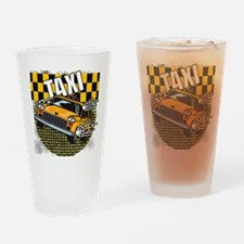 TAXI Drinking Glass
