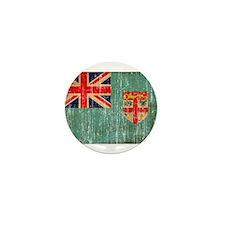 Fiji Flag Mini Button