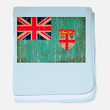 Fiji Flag baby blanket