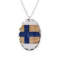 Finland Flag Necklace